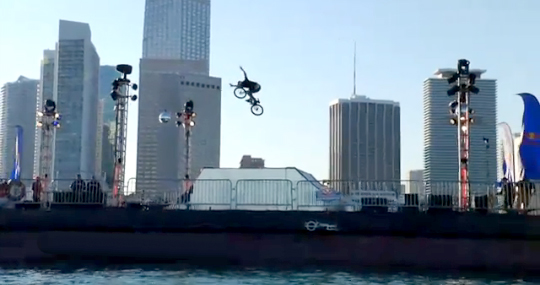 Red Bull Bargespin