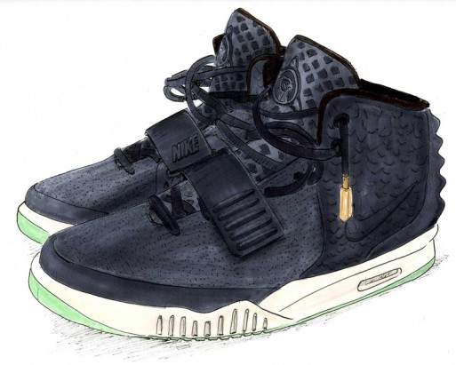 Air Yeezy 2 / Mercy