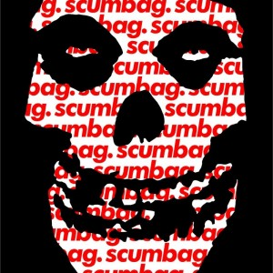 The Crimson scumbag sticker