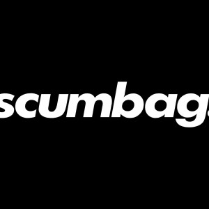 24″ scumbag. window banner
