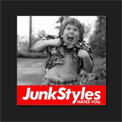 The JSHY ChunkStyles Sticker