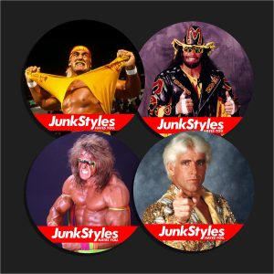 The Junkamania Superstars Pin Pack
