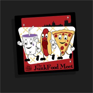 The Junk Food Dudes Magnet