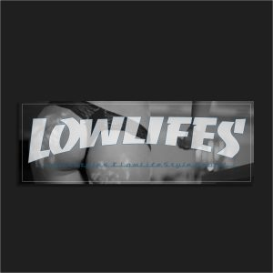 The LowLifes Cake Slap Sticker