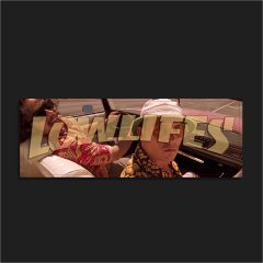 The LowLifes Gonzo Slap Sticker