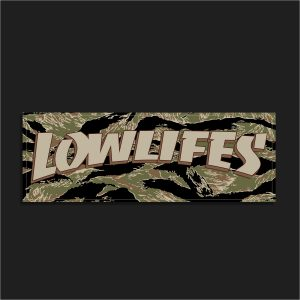 The LowLifes Tiger Style Slap Sticker
