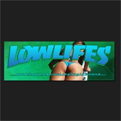 The LowLifes Pool Party Slap Sticker