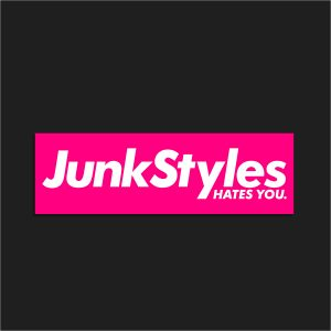 The JSHY Pink Box Logo Sticker