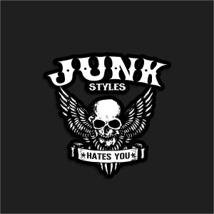 The Junk's Not Dead Sticker