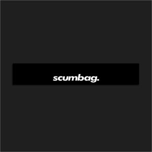 Motorsport Windshield Banner – Scumbag.
