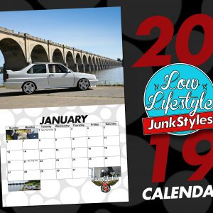 2019 Calendar – Pre-Order now thru Dec 18th