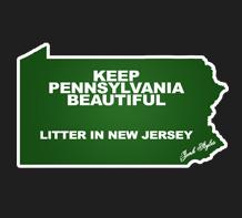 The Keep PA Beautiful Sticker