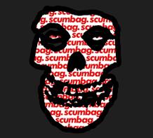 The Crimson scumbag sticker