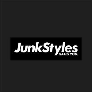 The JSHY Black Box Logo Sticker