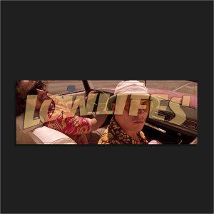 The LowLifes Gonzo Slap Sticker
