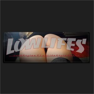 The LowLifes Fit-ness Slap Sticker