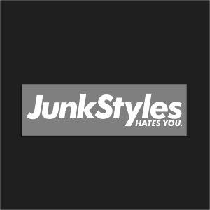 The JSHY Grey Box Logo Sticker