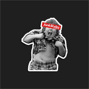 The JSHY ChunkStyles Sticker