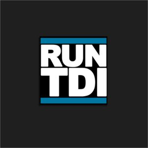 The Run TDI Sticker