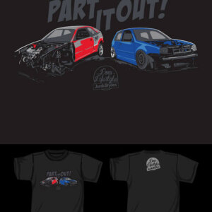 PRE-ORDER Part  It Out Tee