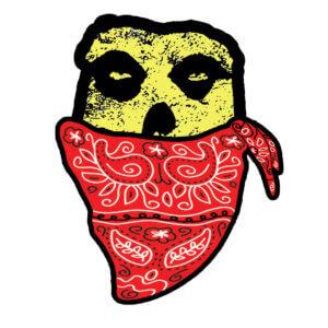 Crimson Ghostface Yellow